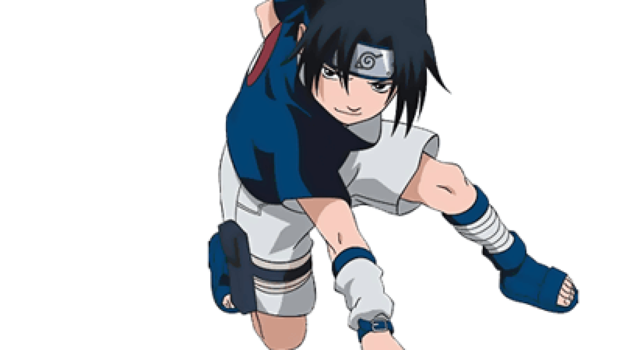 How to Draw Sasuke Uchiha from Naruto in Easy Step by Step Drawing ...