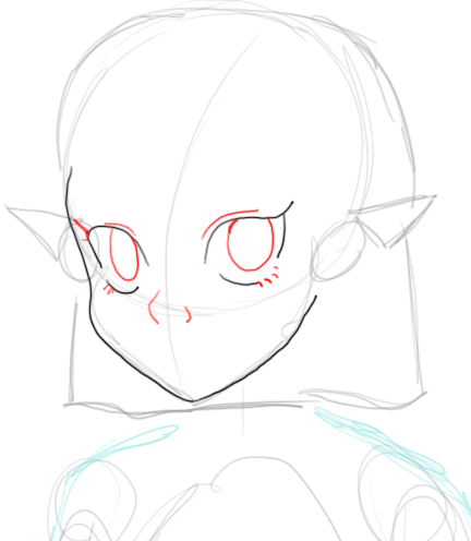 How to Draw Young Princess Zelda with Step by Step Drawing