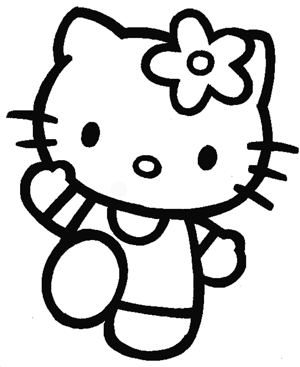 How to Draw Hello Kitty with Easy Step by Step Drawing
