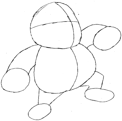 How to Draw Wario and Car from Wii Mario Kart Game Drawing
