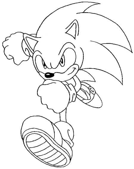 How to Draw Sonic the Hedgehog with Easy Step by Step