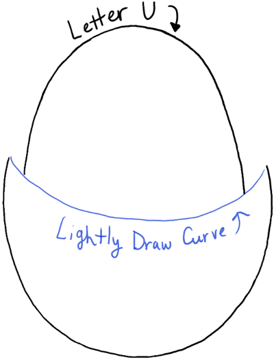 How to Draw a Baby Chick in an Egg Shell for Easter