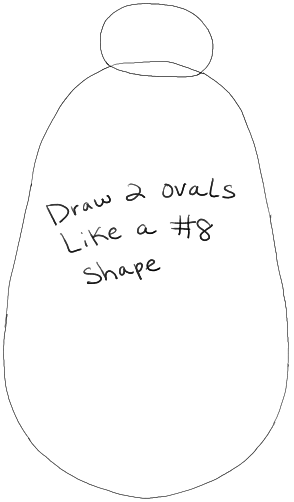 How to Draw Baymax from Big Hero 6 in Easy Step by Step
