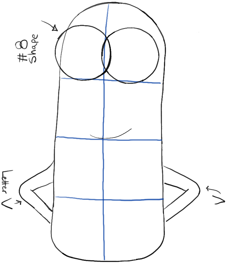 How to Draw Kevin from The Minions Movie 2015 in Easy