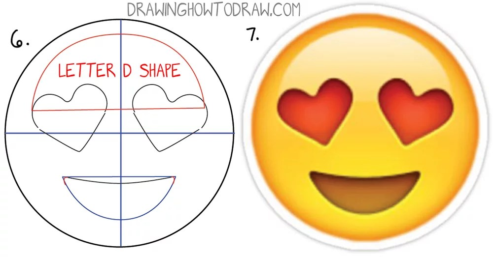 how to draw heart