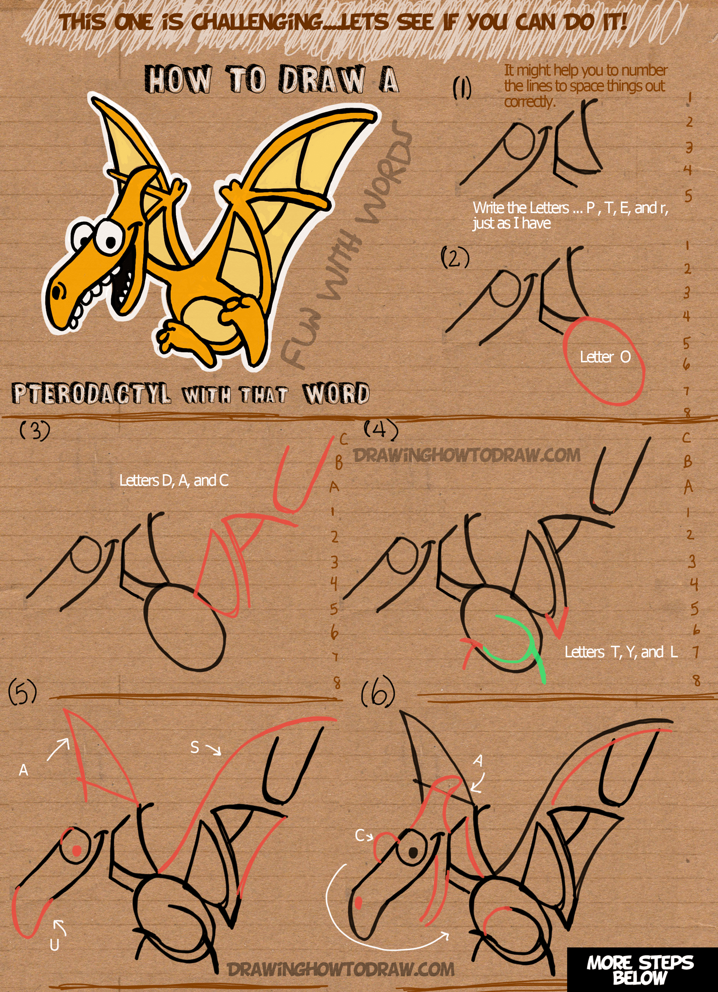 how to make a diagram in word ge gas dryer wiring draw cartoon pterodactyls using the step by