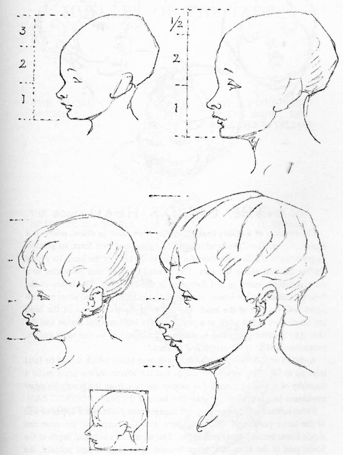 Learn How to Draw Children's and Baby's Faces in the