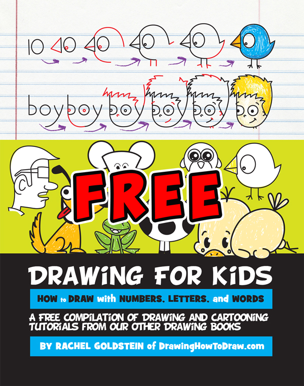 Free Drawing Activity Book for Kids - How to Draw Step by ...