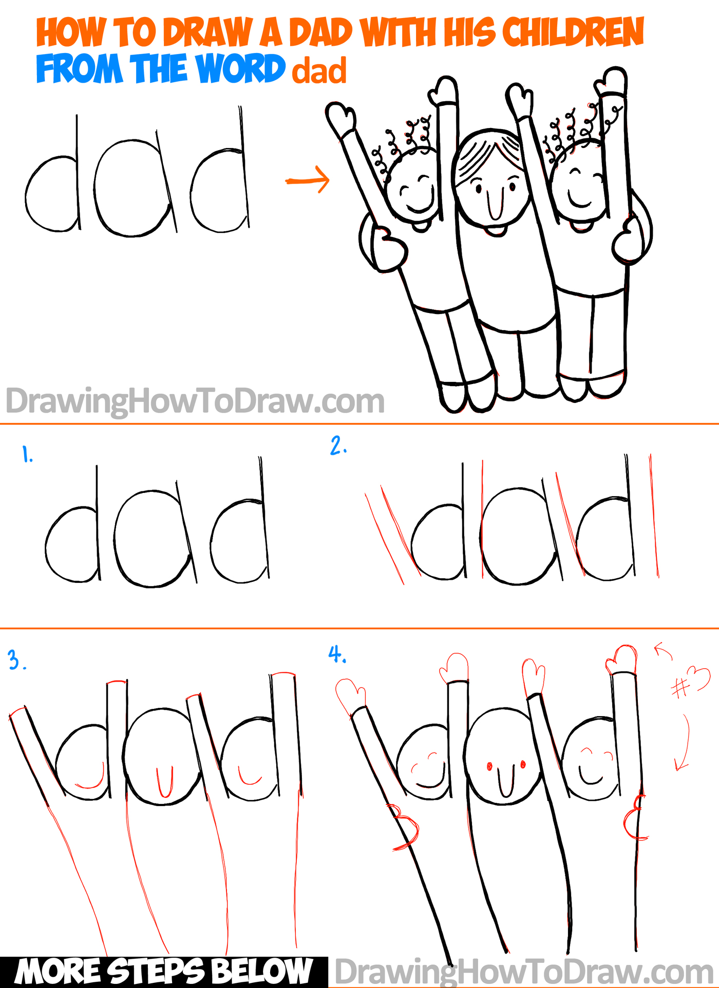 how to make a diagram in word 2002 saturn sc2 radio wiring draw cartoon dad and children from the