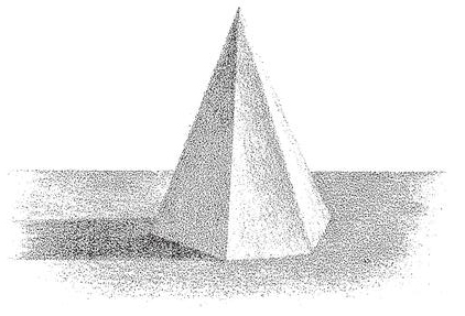 How to Shade Pyramids  Adding Shadows and Shaded Graduations to Pyramids  How to Draw Step by