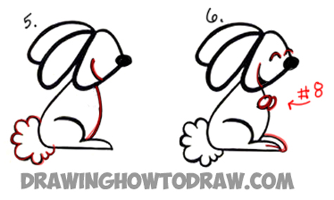 How to Draw a Cartoon Bunny Rabbit from a Cursive Letter a