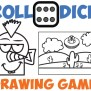 Drawing Games For Kids Roll The Dice Drawing Game How