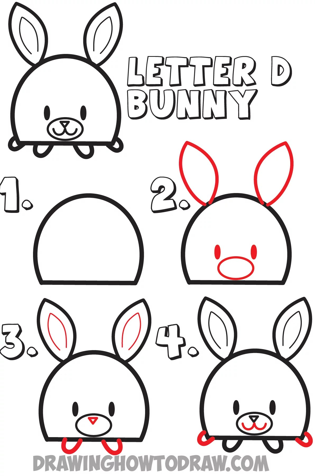Easy Drawings: Huge Guide to Drawing Cartoon Animals from
