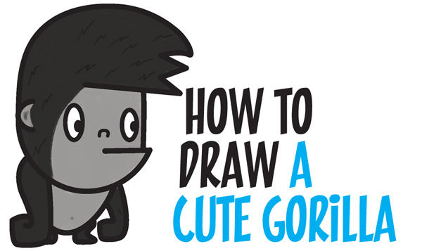 how to draw cute cartoon characters step by step
