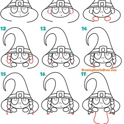 Er Diagram Tutorial For Beginners 2004 Jeep Grand Cherokee Door Lock Wiring How To Draw A Cute Cartoon Kid Dressed Up As Witch
