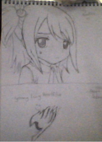 Drawing Lucy Heartfilia Kid  picture by Animelover36524  DrawingNow