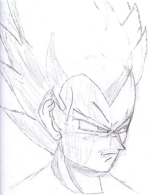 Dragonball Z Drawing