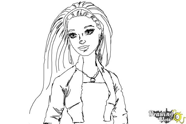 How to Draw Summer from Barbie: Life In The Dreamhouse