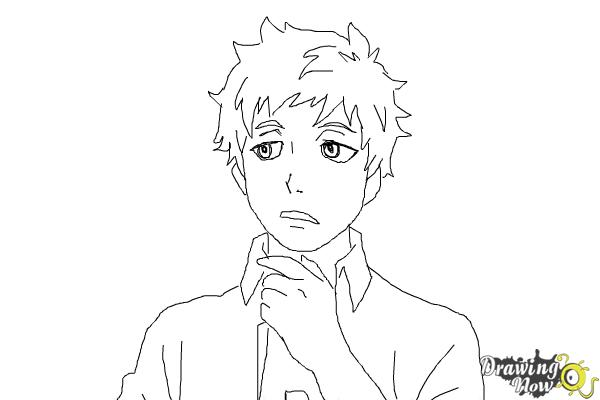 How to Draw Renzo Shima from Ao No Exorcist, Blue Exorcist