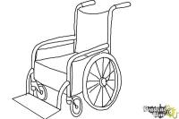 How to Draw a Wheelchair - DrawingNow