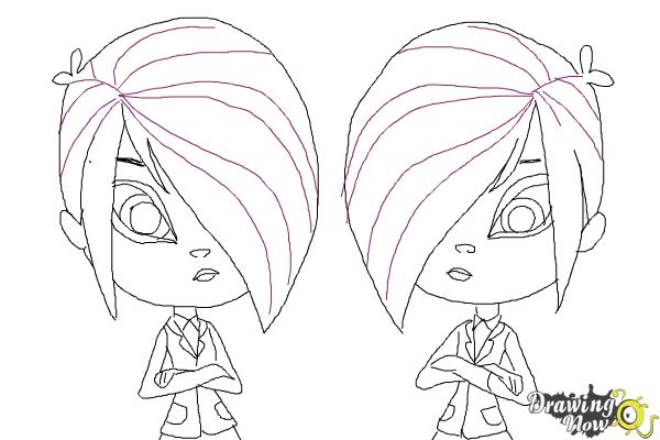 How to Draw The Biskit Twins from Littlest Pet Shop
