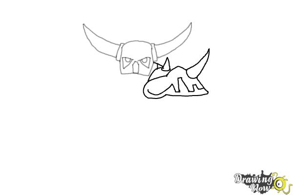 How To Draw PEKKA From Clash Of Clans DrawingNow