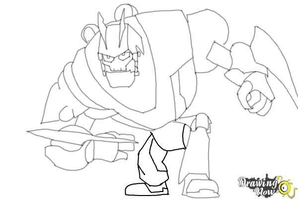 How to Draw Victor Von Ion from the Movie Ratchet and