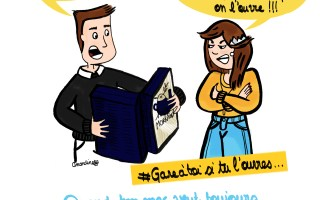 Quand ouvrir son calendrier de l'Avent - Illustration - Drawings and things