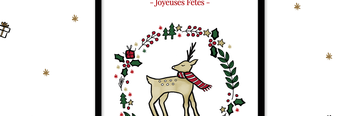 Des cartes de noel à télécharger sur Drawings and things