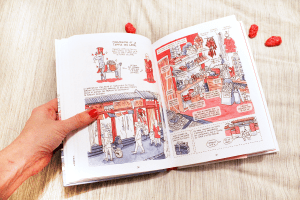 Mes Lectures BD - Petite balade et grande muraille - Maïté Verjus by Drawingsandthings