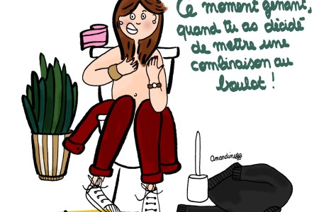 Porter une combinaison au travail - Illustration-by Drawingsandthings