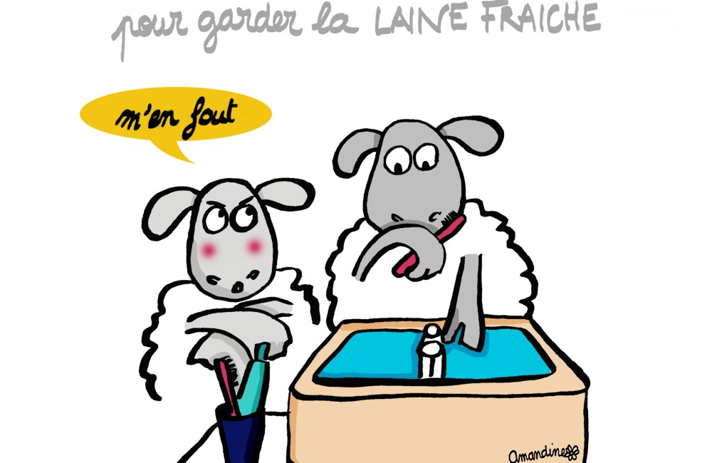 Laine et haleine - Illustration-by Drawingsandthings