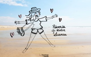 Illustration-Reverie-Matin-Lacanau-Sud-ouest-Drawingsandthings