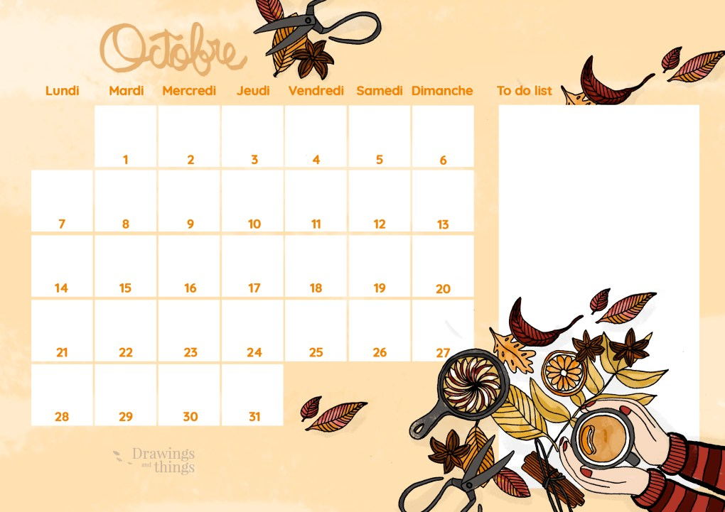Calendrier_Drawingsandthings-octobre-2019