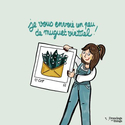 Muguet-1er-Mai-Confinement-Illustration-by-Drawingsandthings