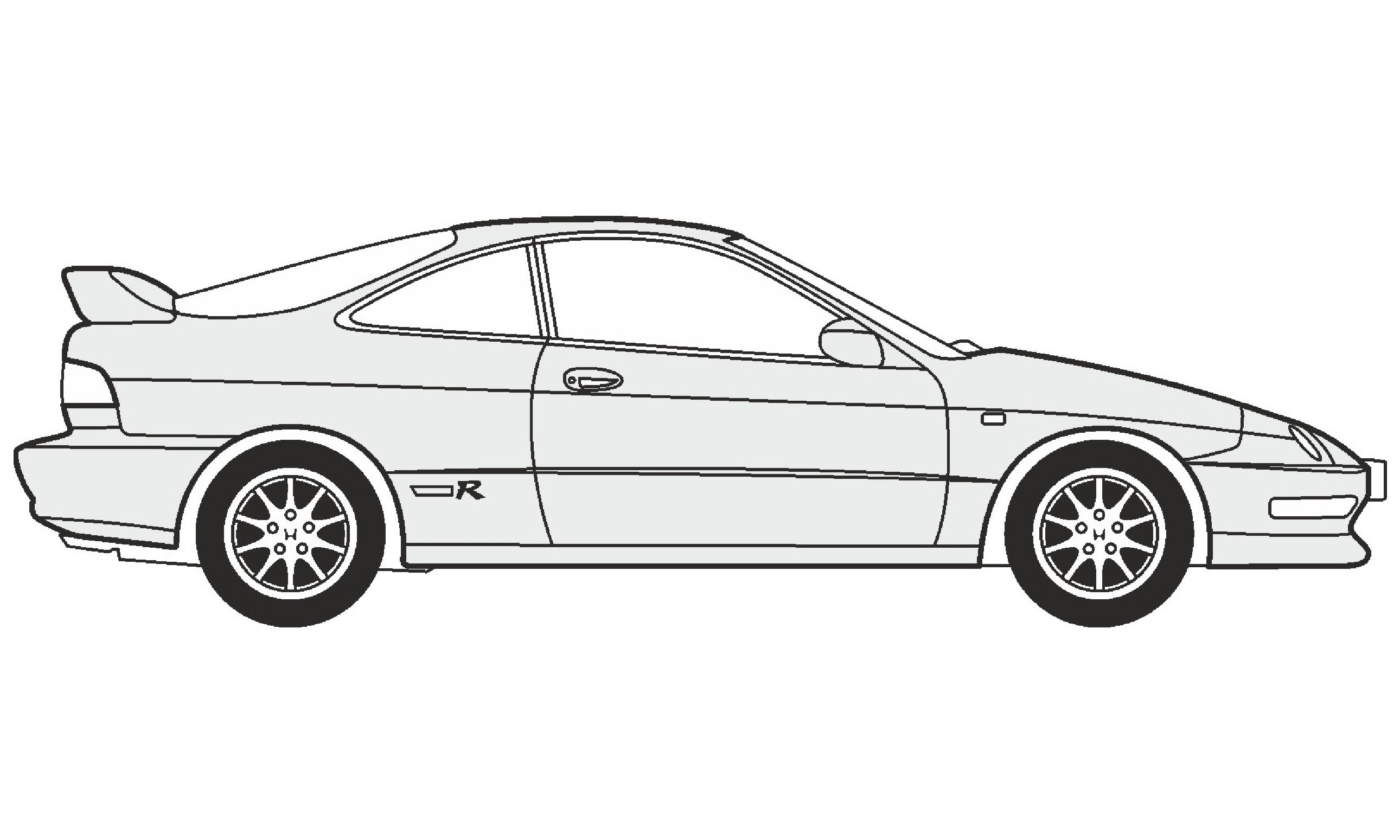 Acura Drawing Pencil Sketch Colorful Realistic Art
