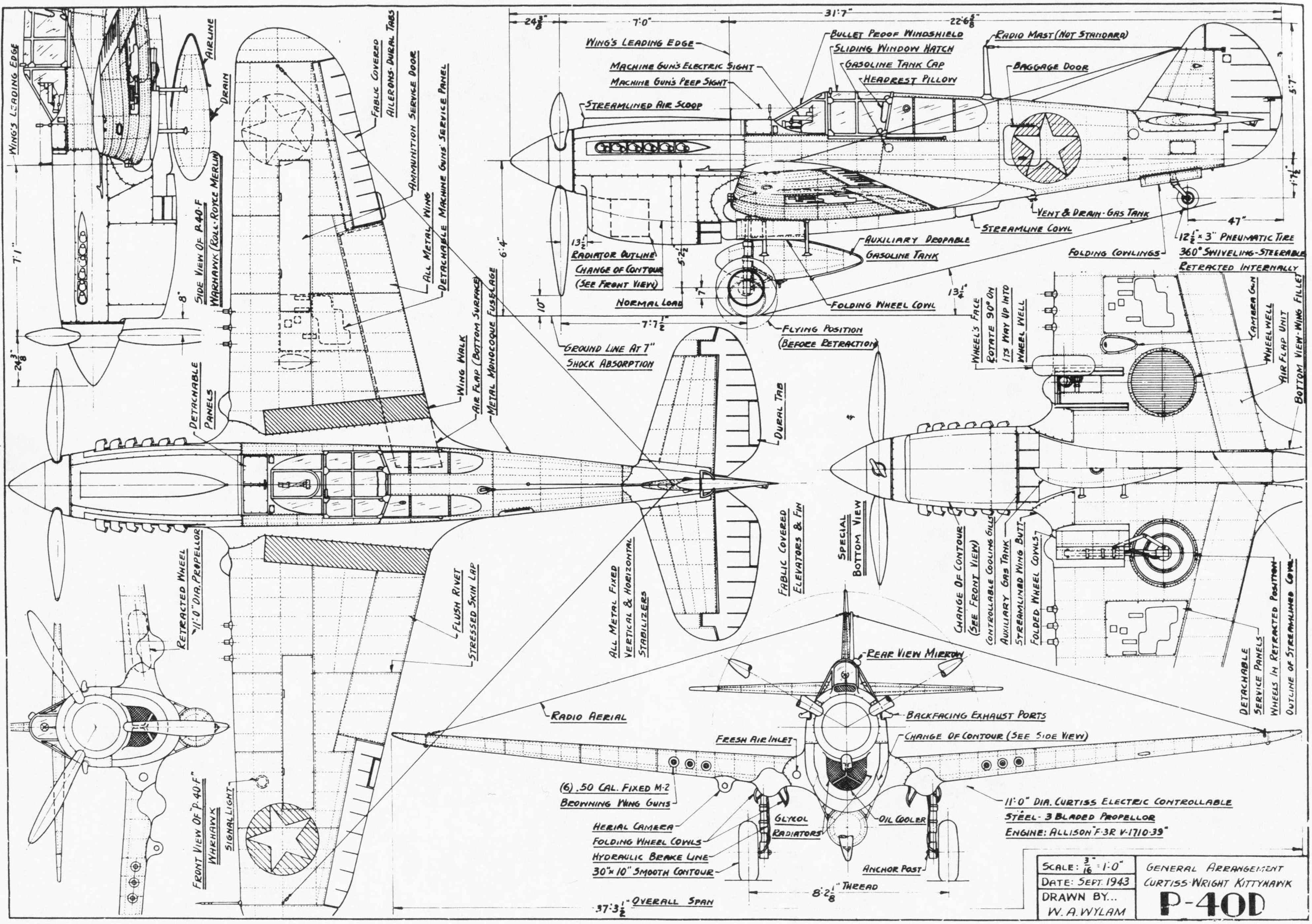 Aircraft Engineering Drawing