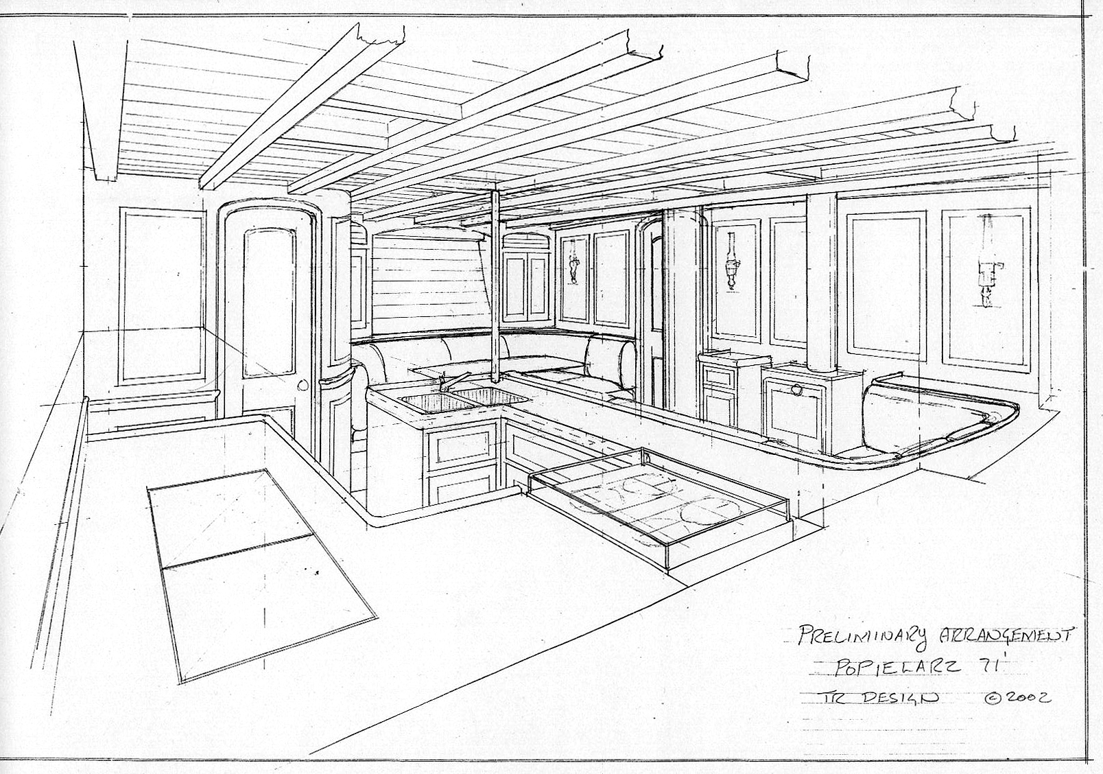 Interior Design Picture Drawing