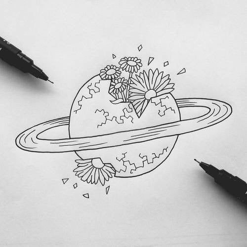 deep meaningful drawing pencil
