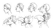 hair boys drawing beautiful
