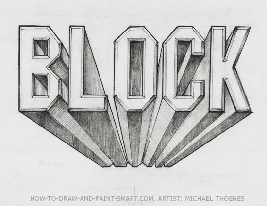 March 1st: Block Letters