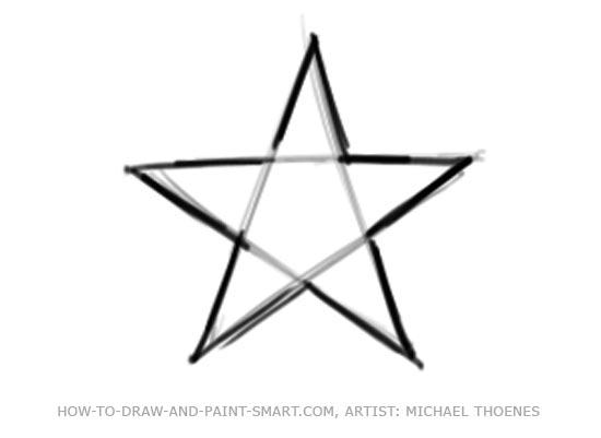 Draw a Star Shape
