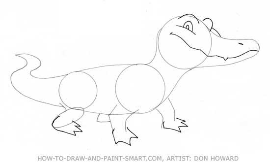 How to Draw Alligators