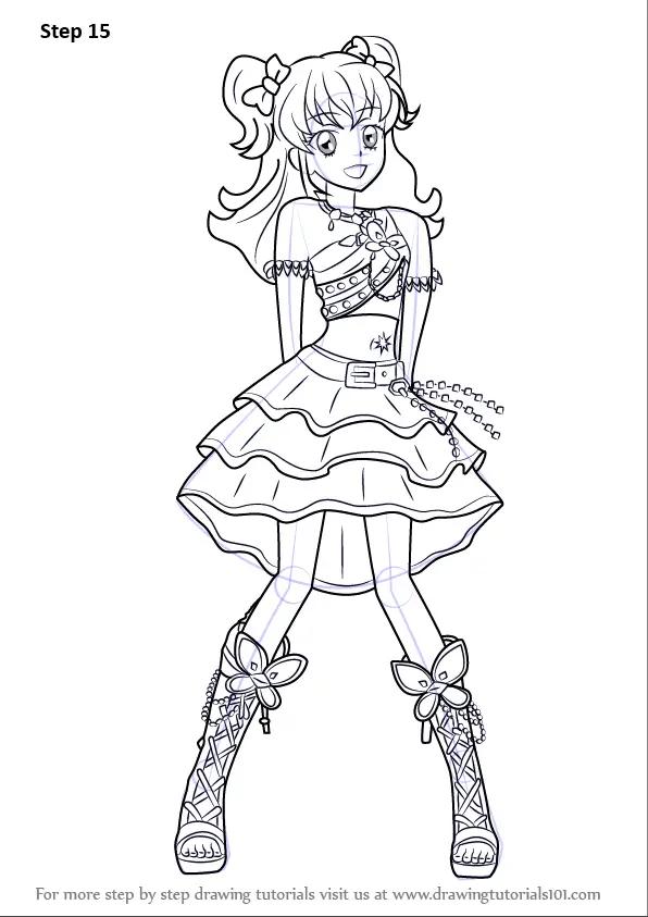 Learn How to Draw Hikari Minowa from Aikatsu! (Aikatsu