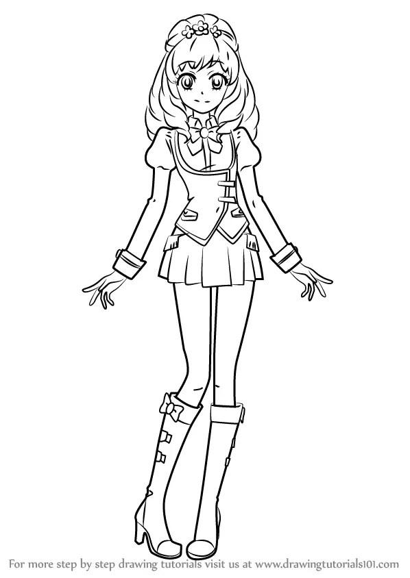 Learn How to Draw Maria Himesato from Aikatsu! (Aikatsu