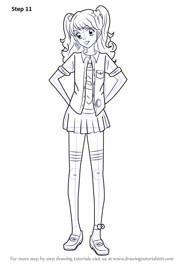 Learn How To Draw Mikuru Natsuki From Aikatsu Aikatsu