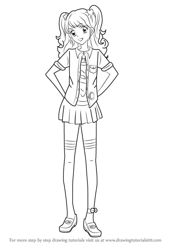 Learn How to Draw Mikuru Natsuki from Aikatsu! (Aikatsu