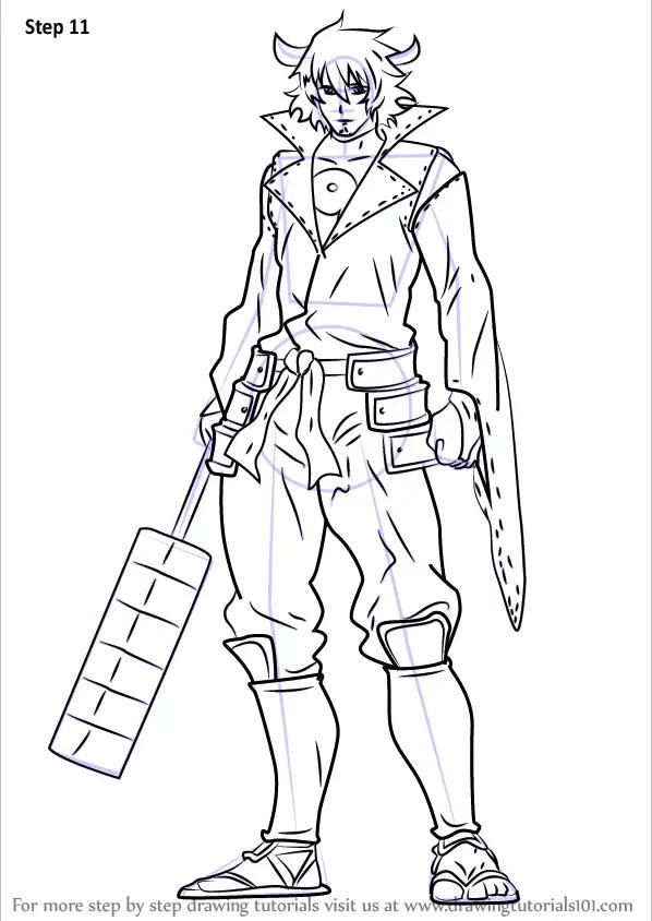Learn How to Draw Susanoo from Akame Ga Kill (Akame Ga