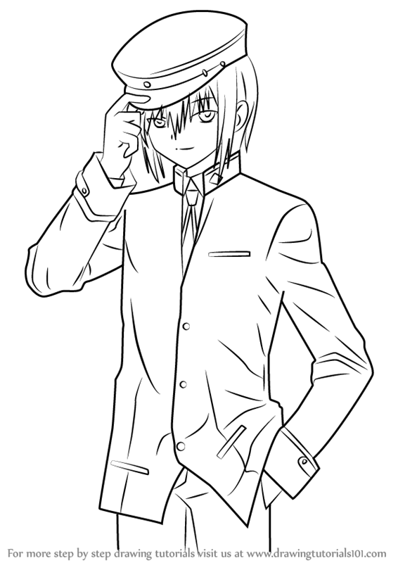Learn How to Draw Ayato Naoi from Angel Beats! (Angel
