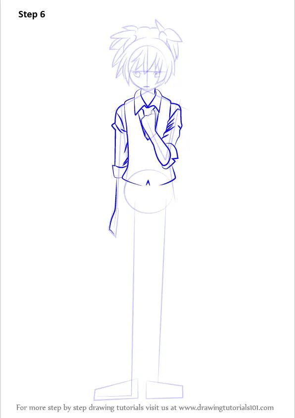 Learn How to Draw Nagisa Shiota from Assassination